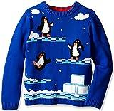 Video Games Best Deals - Blizzard Bay Big Boys 'Pingüino Video Game Jersey, color Multi, talla Mediano