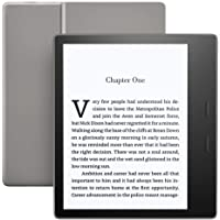 "Kindle Oasis (9th Gen) - 7"" High Resolution Display (300 ppi), Waterproof, 32 GB, Wi-Fi, Graphite"