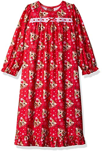 Girls Christmas Nightgown - 3