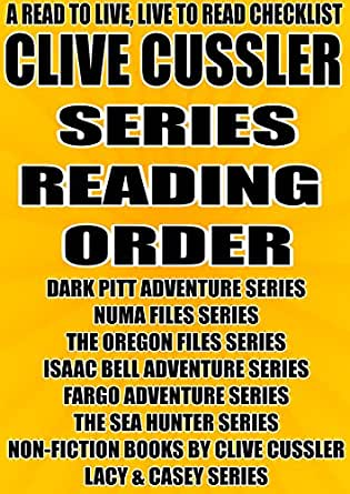 Clive cussler books oregon series