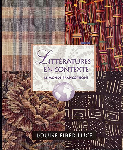 Litteratures En Contexte Text Only