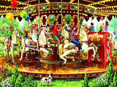 Carousel Ride 1000 Piece Jigsaw Puzzle by SunsOut