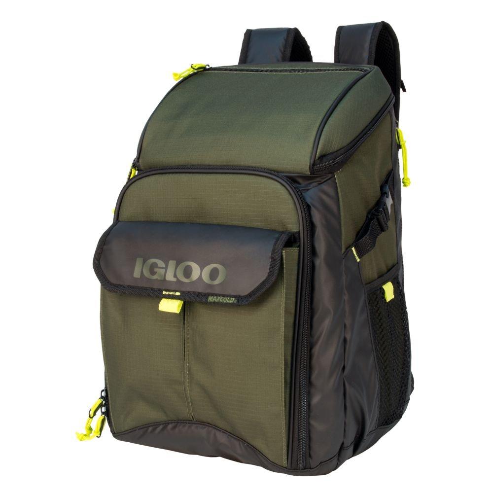 Igloo 00063037 Outdoorsman Gizmo Backpack-Tank Green/Black