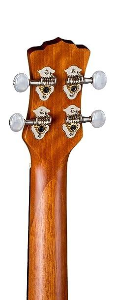 Luna Guitars UKE TC MAH Ukul/él/é Concert Marron