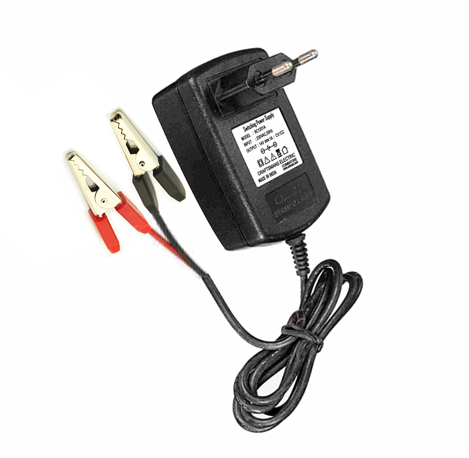 Powerindia Battery Charger 12v 1a Adapter Electronics Lightweight Circuit Diagram With Auto Cut Off