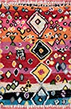 nuLOOM Alane Moroccan Shag Area Rug, 4' x 6', Multi