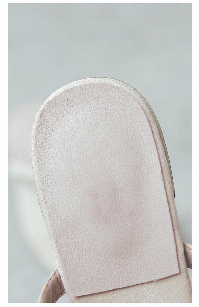 DIDIDD Flache Schuhe Der Modeabnutzung Der Frau Zehen Wilde Faule Faule Faule Frauensandalen Aprikose 39 881b9a