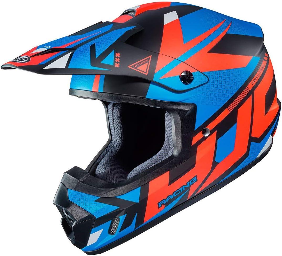 Hjc Cs Mx Ii Madax Motocross Helm Schwarz Rot Blau Xl 61 62 Auto