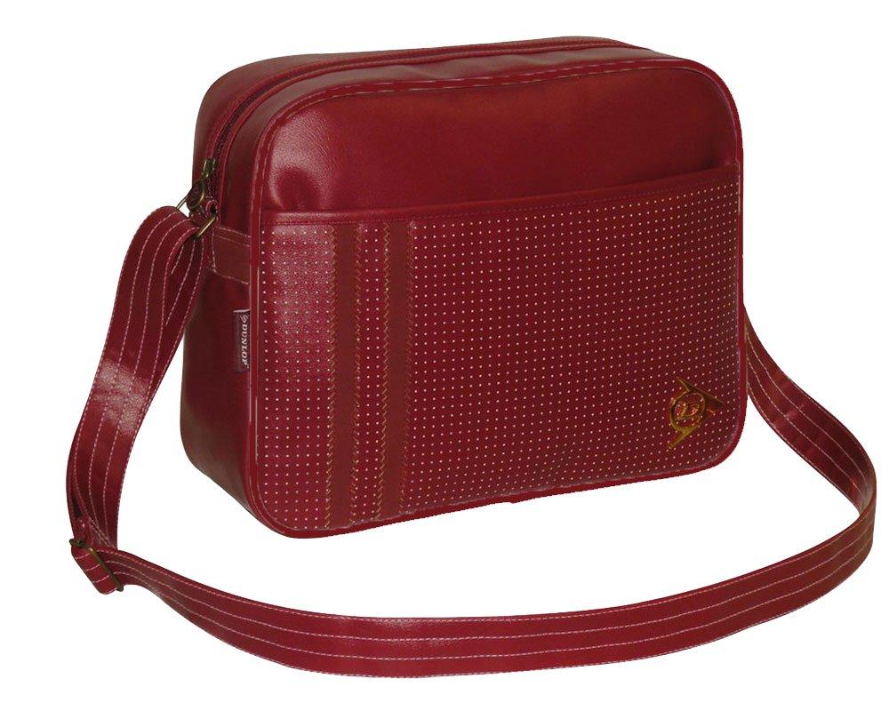 Dunlop Men's Dunsf7050 Synthetic Shoulder Messenger Bag dunsf7050_bkl