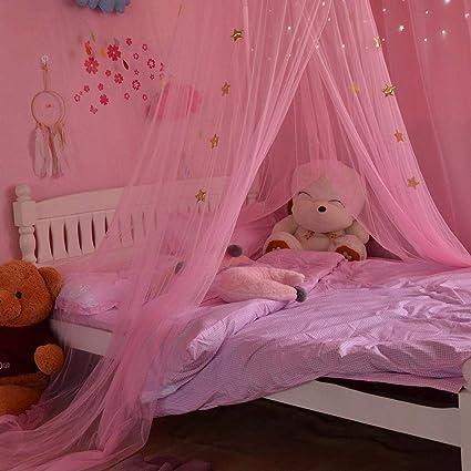 Letto baldacchino per bambini Sala da gioco con baldacchino, Fantasia  Butterfly Princess Wind, Tenda a zanzariera a cupola, camera da letto nubile