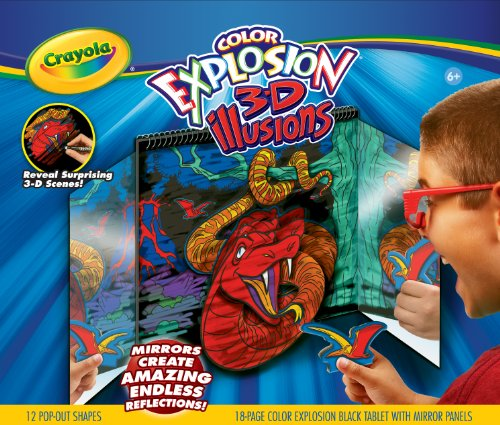 Crayola Explosion 3D Mirror FX