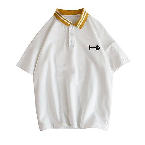 Peng La Primavera Y El Verano, Los Hombres La Solapa De Polo Shirt ...