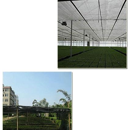 xiuyun Sombra de Espesamiento al Aire Libre de Malla de sombrilla de Polietileno de Alta Densidad (Color : Negro, Tamaño : 2Mx100M): Amazon.es: Hogar
