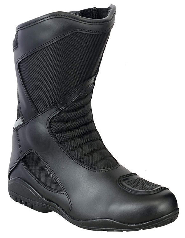 Motorrad Stiefel Racing Stylist Kurze Ankle Boot Motorrad Off Road Touring Schuhe Wasserdicht gepanzert f/ür Herren Jungen Grobe EU 44
