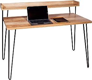 OneSpace Avalon Simple, Classic Oak Computer Desk