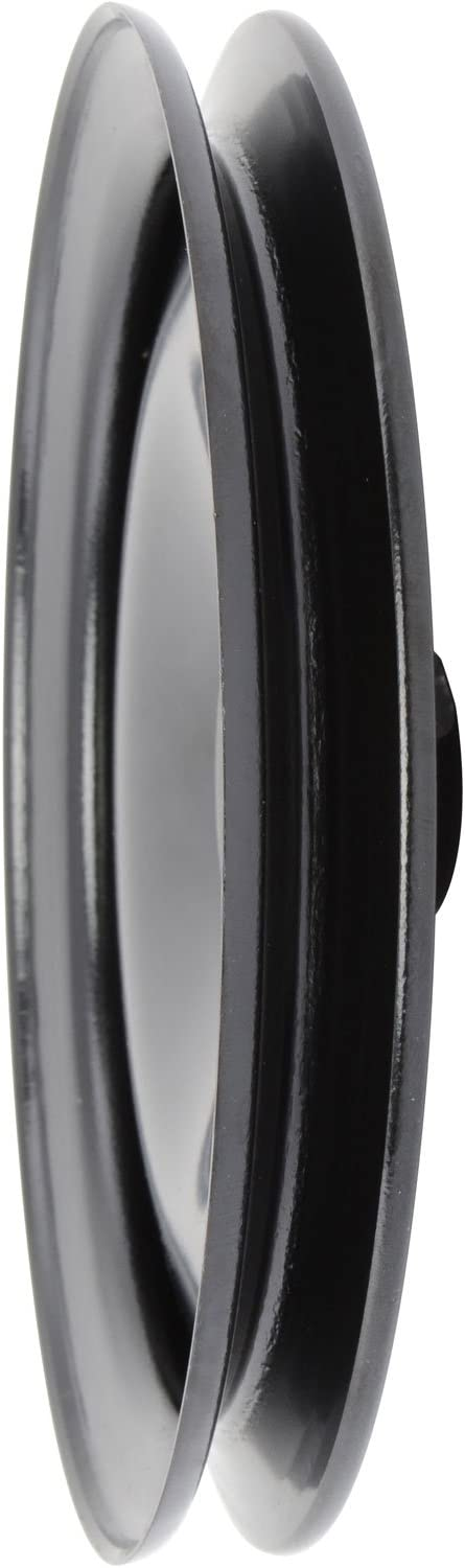 JEGS Performance Products 514196 Power Steering Pulley Early GM Black Steel Sing