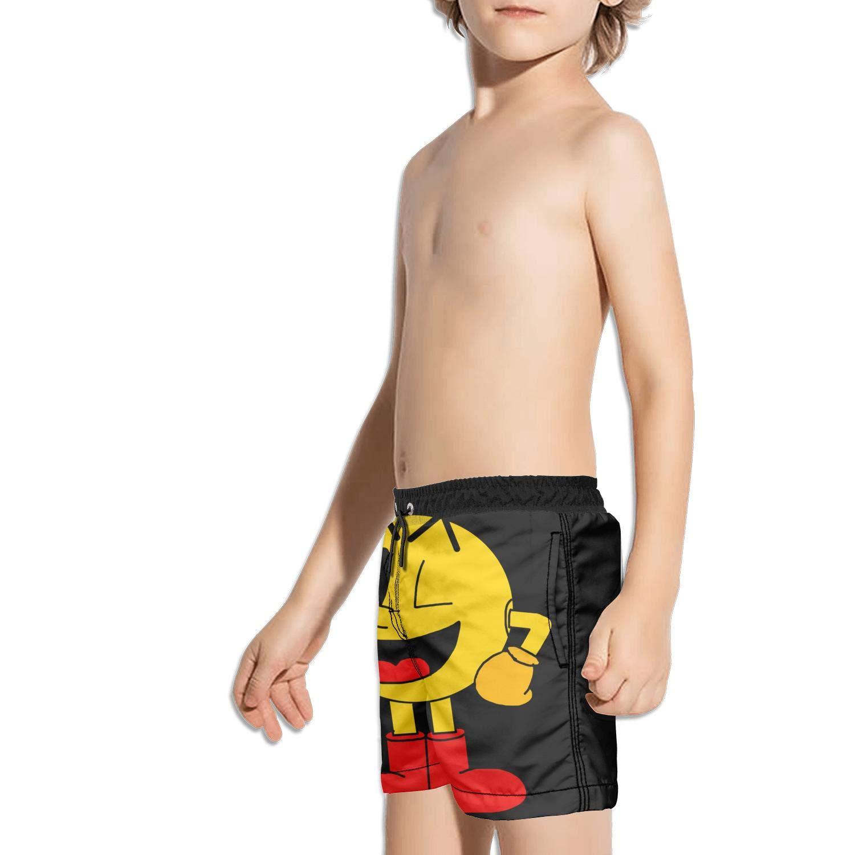 Kids Miles Adjustable Side Split Swimming Trunks Shorts
