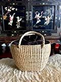 Large Straw Beach Basket,Straw Basket Tote,Large Straw Bag,Woven Straw Bag,Straw Tote
