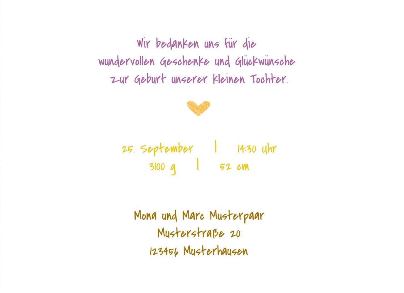 Kartenparadies Danksagung für Geburt Baby Dankeskarte Herzrahmen, hochwertige Danksagungskarte Danksagungskarte Danksagungskarte Baby inklusive Umschläge   100 Karten - (Format  148x105 mm) Farbe  Lila B01N7Y4OUO | Spielen Sie auf der ganzen Welt und verhindern Sie, dass Ihre Ki 8cd269