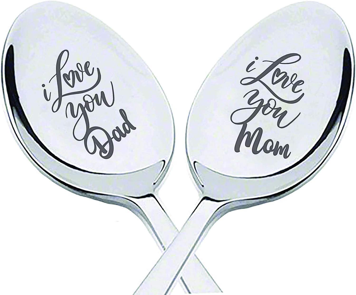 Hand Stamped Good Morning Dad Vintage spoon hand stamped with your message