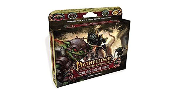 Amazon.com: Pathfinder Adventure Juego de cartas: Duendes ...