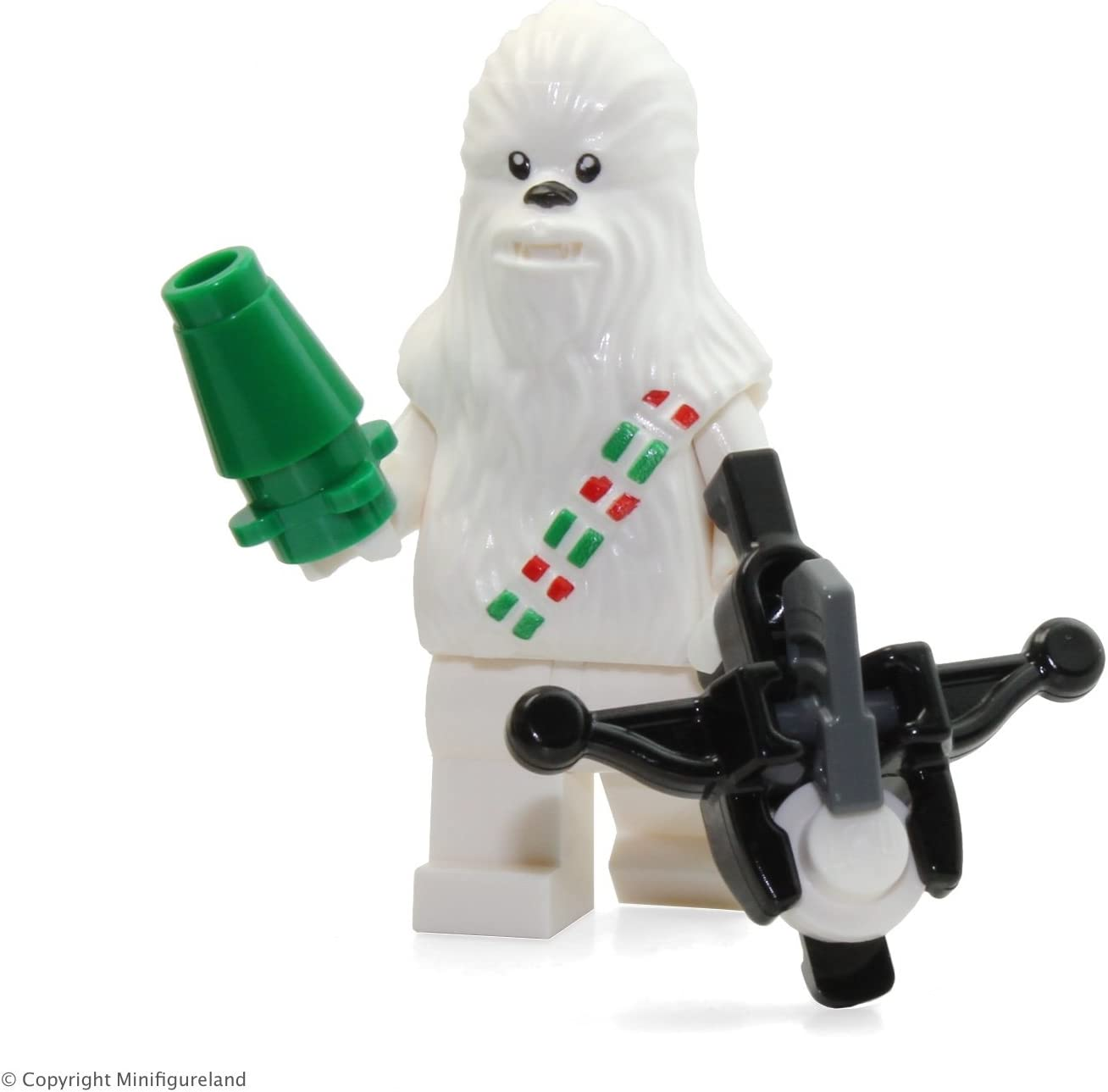 LEGO Star Wars - Exclusive Snow Chewbacca Minifigure (From Advent Calendar 75146) 2016