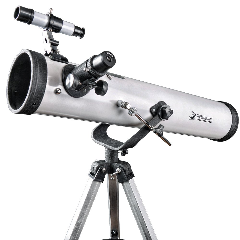 76mm Aperture 700mm Focal Length Telescope-Astronomical Reflector Travel Scope for Beginners with Tripod and Smartphone Mount to Capture and Share by Landove