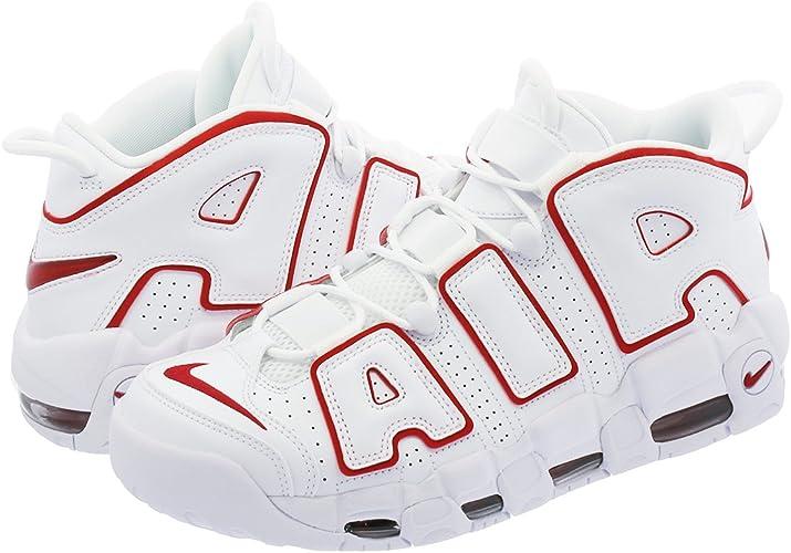 AIR MORE UPTEMPO 96 WHITE/VARSITY RED