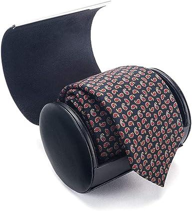 Estuche para corbatas de hombres, funda de viaje redondo imantado, regalo ideal para hombres de negocios.: Amazon.es: Ropa y accesorios