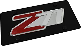 product image for Chevrolet Eurosport Daytona- Compatible Z71 on Carbon Steel License Plate