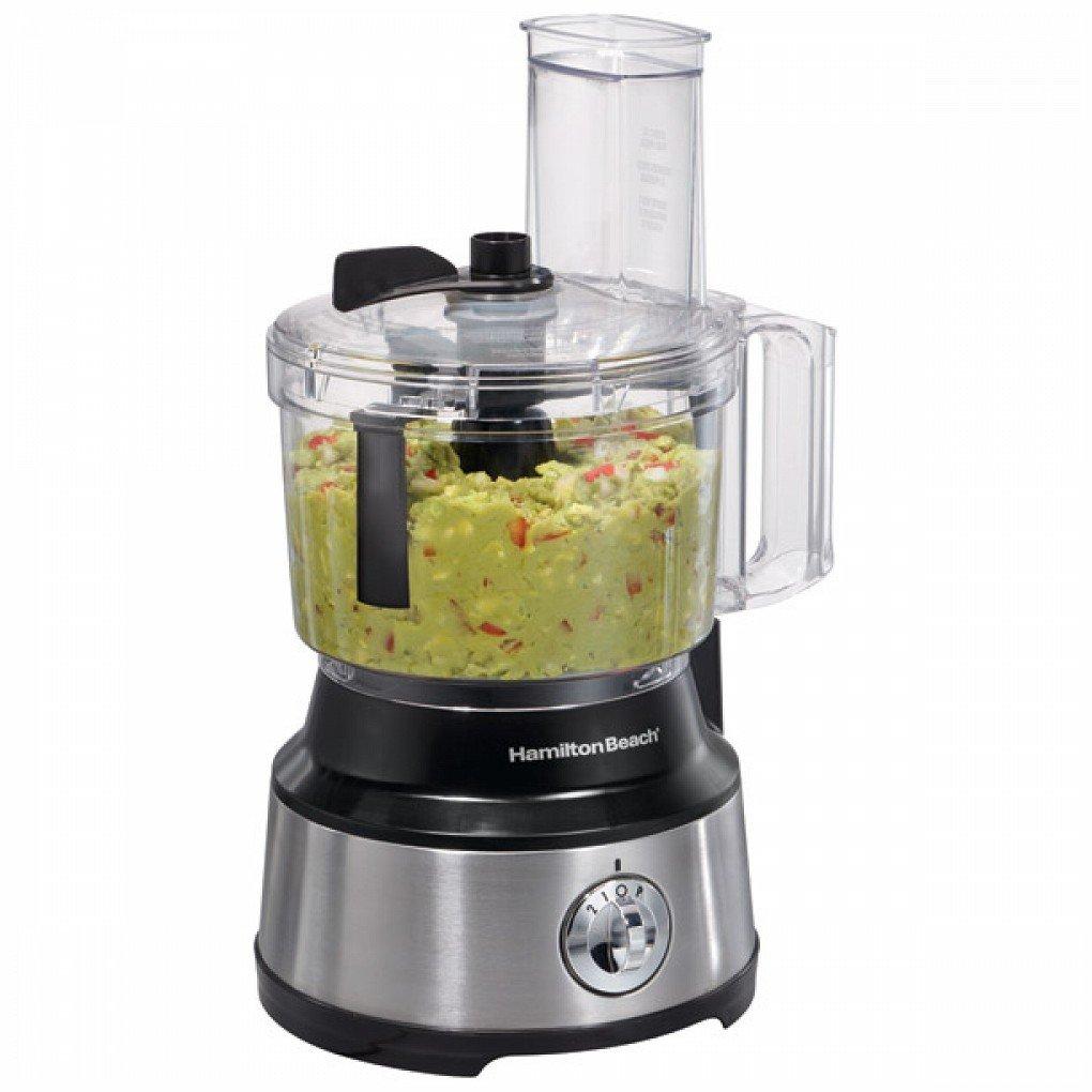 450-Watt 10-Cup Food Processor with Bowl Scraper Attachment