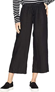 product image for Hard Tail High-Rise Pull-on Crop Pants Black SM 24