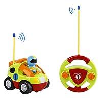 FPVRC Voiture Télécommandée RC Camion de Police/Course Jouet pour les Bébés et les Enfants (Vert Clair)