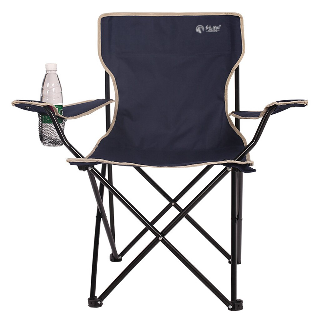 Outdoor Angeln Klappstuhl Angeln Stuhl Beach Lounge Stuhl Einfache Klappsessel Outdoor Leichte Durable Outdoor Sitz mit einem Mesh Cup Holder