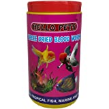 Hello Pet's Freeze Dried Blood Worms Fish Food (55g)