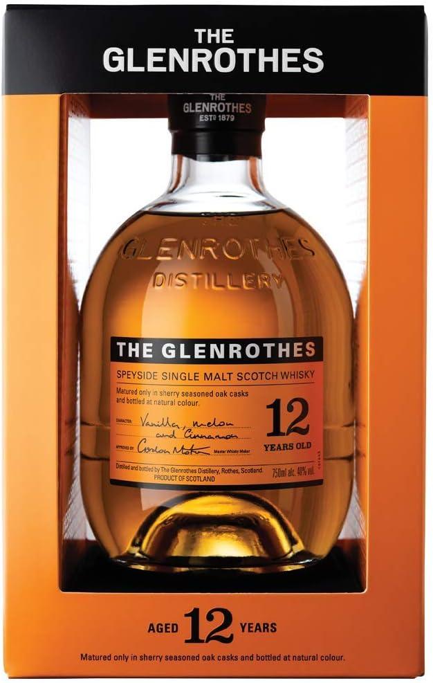 The Glenrothes Single Malt Scotch Whisky - Whisky Escoce, 12 Años, 40%, 700 ml: Amazon.es: Alimentación y bebidas