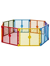 North States Superyard Colorplay 8 Panel Playard BOBEBE Online Baby Store From New York to Miami and Los Angeles