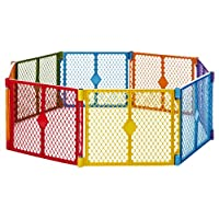 North States Superyard Colorplay 8 Panel Playard