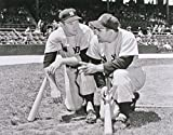 New York Yankees Yogi Berra & Mickey Mantle in 1958. 8x10 Photo