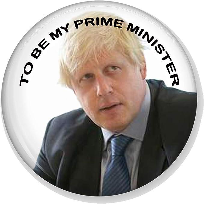 "GOV UK 25mm 1/""INCH BUTTON PIN BADGE PRIME MINISTER BORIS JOHNSON HMRC DOWNING ST"