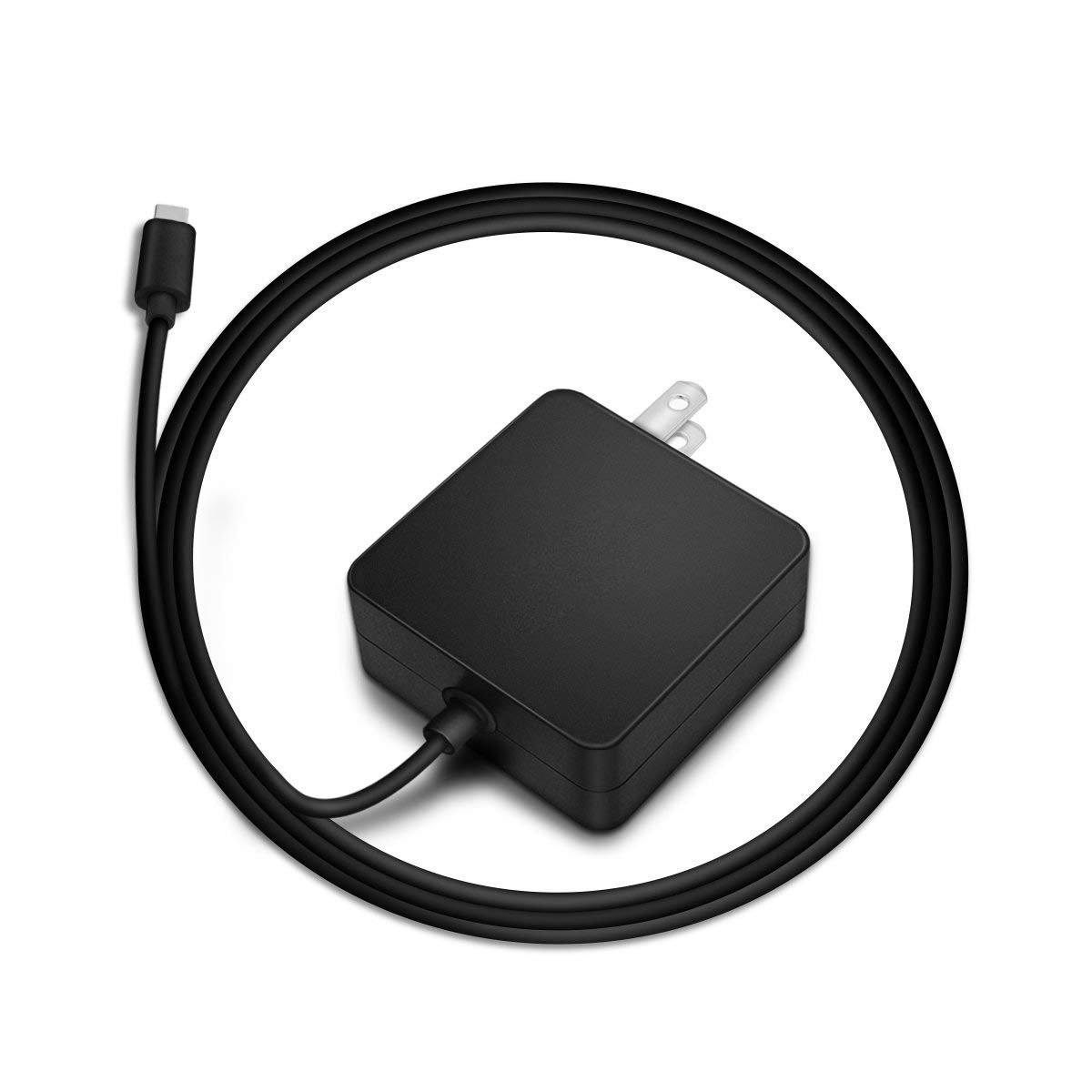 Dexpt USB C AC Charger Compatible Lenovo ThinkPad T580 T580s T470 T480 T480s T570 E480 E580 E585 L380 L380 Yoga L480 L580 Yoga 370 730 730-13IKB Type C Laptop Power Supply Adapter Cord [UL Listed] by Dexpt (Image #1)