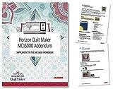 Janome Horizon Quilt Maker MC15000 Workbook Addendum