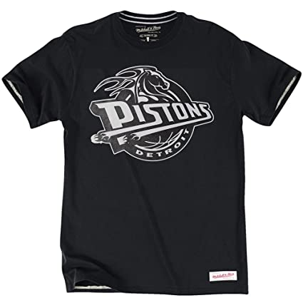 Mitchell & Ness Detroit Pistons Black & La NBA T-Shirt blanco Talla:xx-large: Amazon.es: Deportes y aire libre