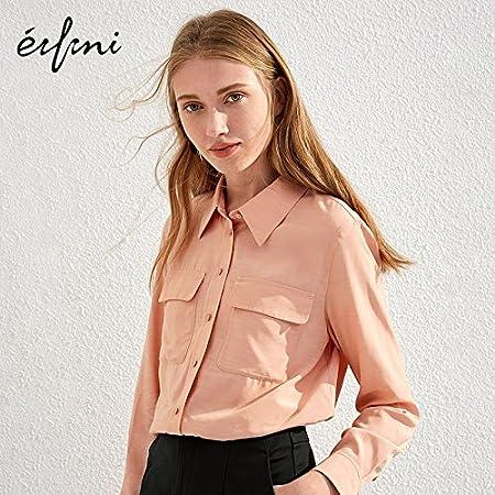 XXIN / T-Shirt Única Fila para Long-Sleeved Flojos/Camiseta ...