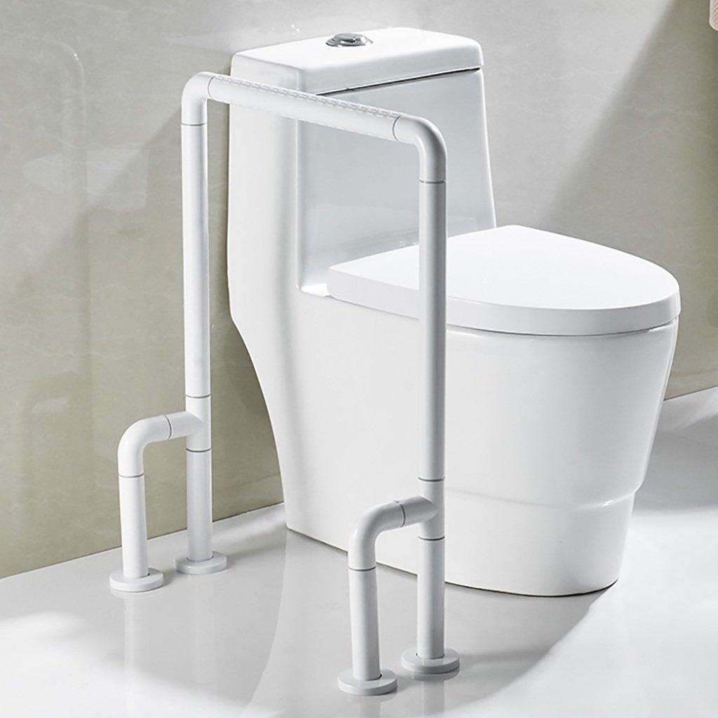 バスルーム手すり着陸ナイロン高齢者、弱いバリアフリー安全手すりトイレ、バスルーム、便器手すりトイレ手すり (色 : 2) B07DQBNT7C  2