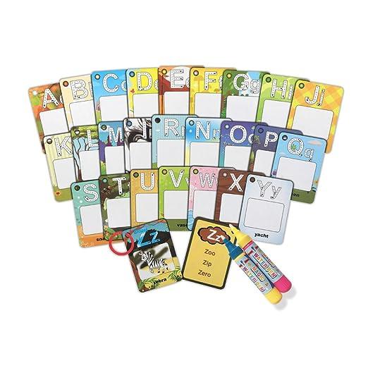 Doodle Palabra Tarjetas con Caja de Color,Mi Primera Palabra ...