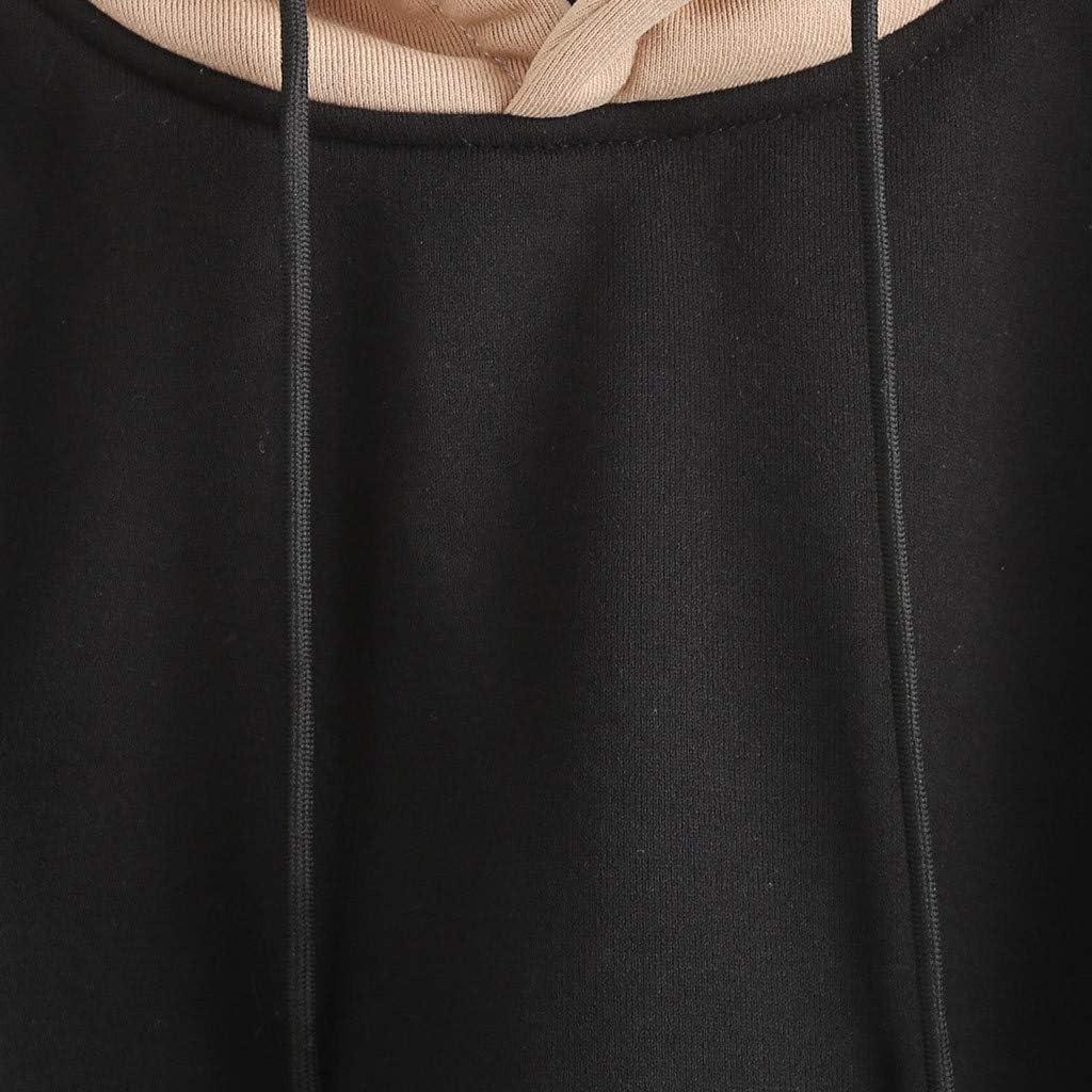 FRAUIT Felpe Donna con Cappuccio Corte Felpe Ragazza Tumblr A Meno di 1 Euro Hoodie Sweatshirt Leggera Pullover Inverno Autunno Maglia Ragazze Manica Lunga Elegante Cotone Invernale