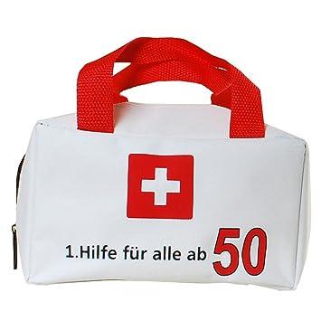 Geschenk Tasche Erste Hilfe 50 Geburtstag Geldgeschenk Party ...