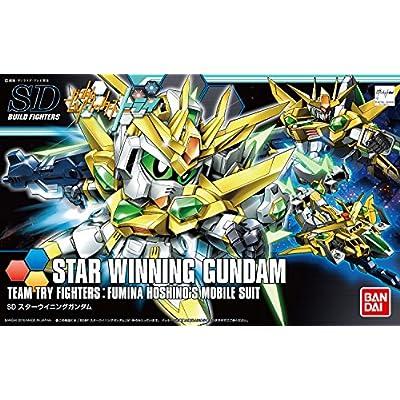Bandai Hobby SDBF Star Winning Gundam Gundam Build Fighters Try Action Figure: Toys & Games