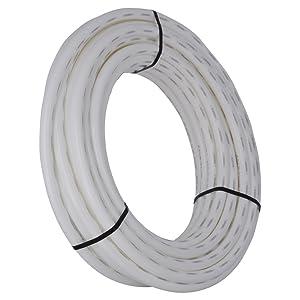 SharkBite U880W100 PEX Pipe 1 Inch, Flexible Water Tube, Potab, 100-Foot, White